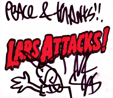 MC Lars - Lars Attacks! SIGNED CD