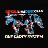 """One Party System"" T-Shirt"