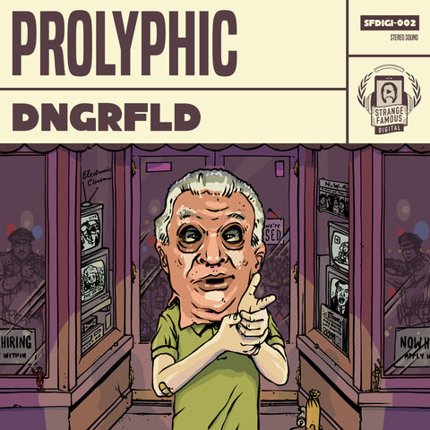 Prolyphic - DNGRFLD CD+MP3+Extras