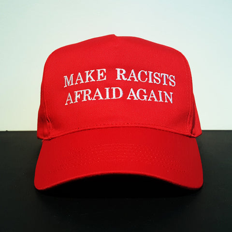 "B. Dolan ""Make Racists Afraid Again"" RED Hat + MP3"