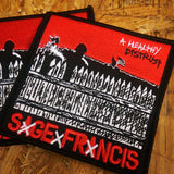 "Sage Francis ""A Healthy Distrust"" 4-Inch PATCH"