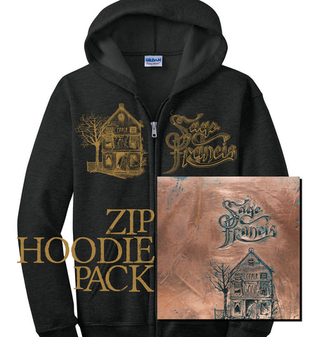"Sage Francis ""Copper Gone"" CD+Zip Hoodie"