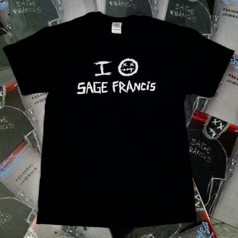 "Sage Francis WOMEN's ""Personal Journals Anniversary"" T-Shirt"