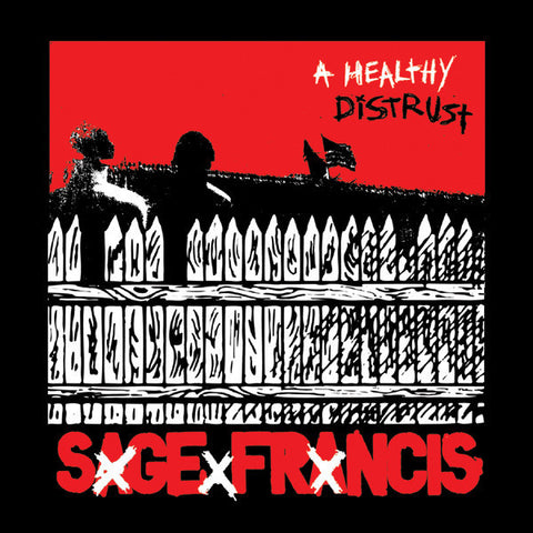 Sage Francis - A Healthy Distrust SIGNED Vinyl LP