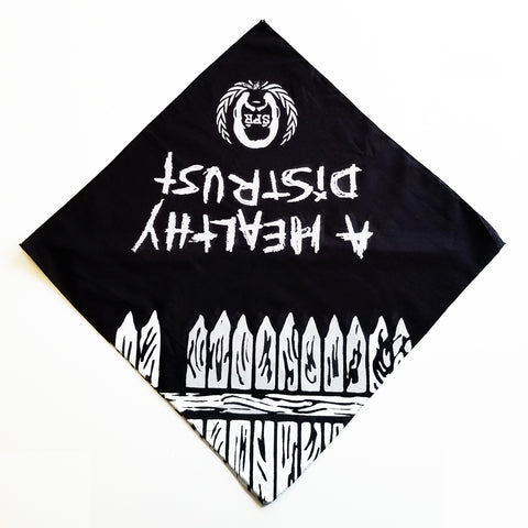 "Sage Francis ""A Healthy Distrust"" Bandanna 2-PACK"