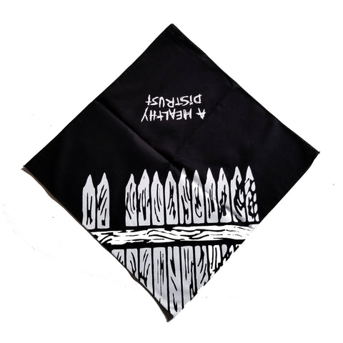 "Sage Francis ""A Healthy Distrust"" Bandanna - BLACK"