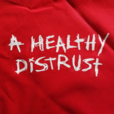 "Sage Francis ""A Healthy Distrust"" Bandanna - RED"