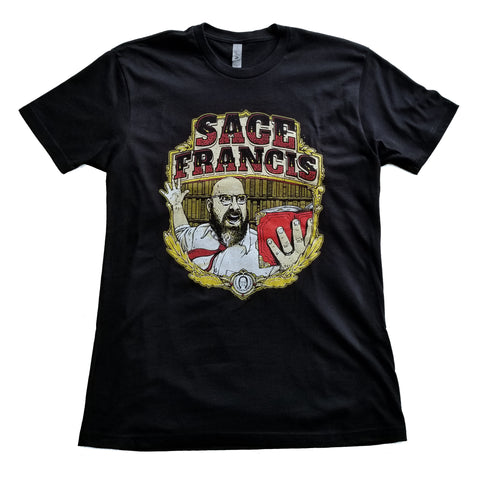 "Sage Francis ""Best Of Times"" BLACK T-Shirt"