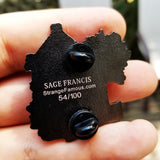 "Sage Francis ""Copper Gone"" House LAPEL PIN"