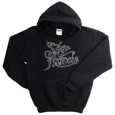 "Sage Francis ""Copper Gone"" BLACK Pullover Hoodie"