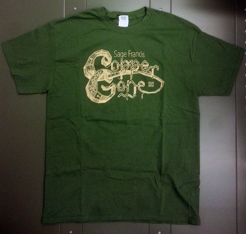 "Sage Francis ""Copper Gone"" TOUR T-Shirt"