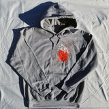 "Sage Francis ""Heart"" Grey PULLOVER HOODIE - LIMITED!"