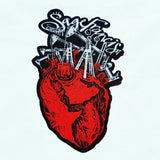 "Sage Francis ""Human The Death Dance"" Heart PATCH"