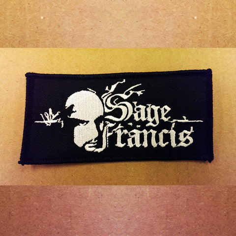 Sage Francis Embroidered Patch