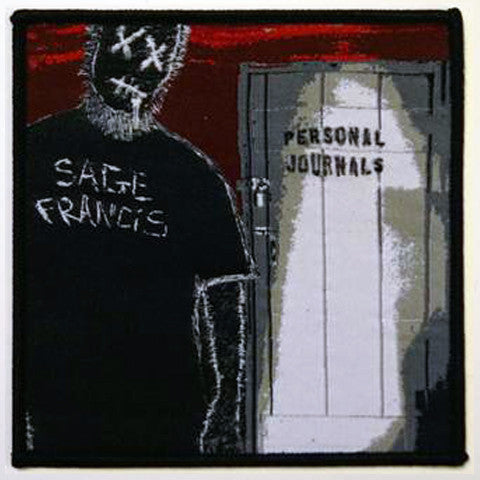 "Sage Francis ""Personal Journals"" 4-Inch PATCH"