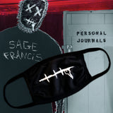"Sage Francis ""Personal Journals"" FACEMASK"