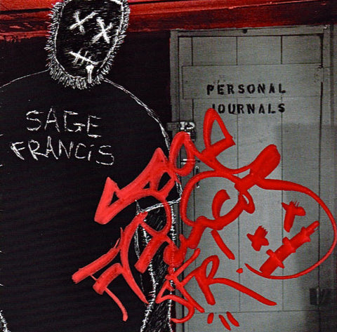 Sage Francis - Personal Journals SIGNED Vinyl