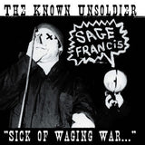 Sage Francis - Sick of Waging War CD