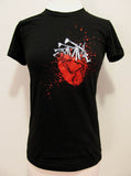"Sage Francis WOMEN's ""Heart"" T-Shirt"