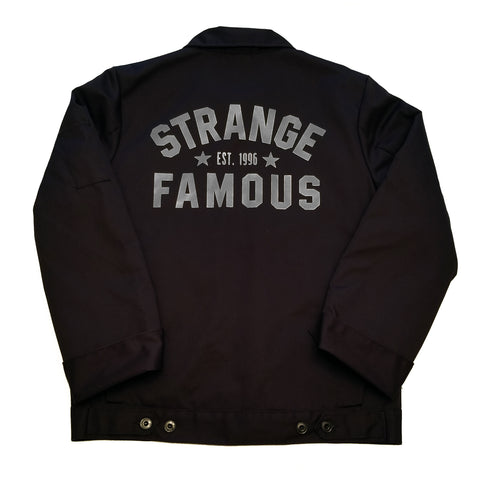 Strange Famous Workwear Jacket - BLACK