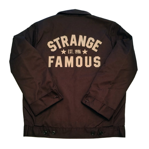 Strange Famous Workwear Jacket - BROWN