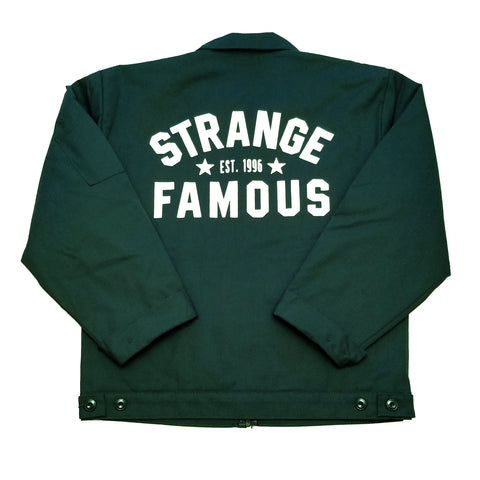 Strange Famous Workwear Jacket - GREEN