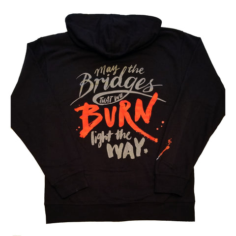 "SFR ""May The Bridges We Burn"" Zip Hoodie"