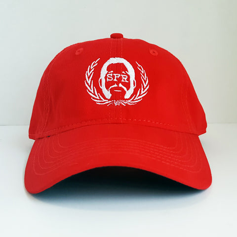 SFR Logo RED Dad Hat