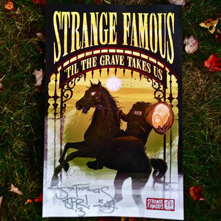 "SFR ""Til The Grave Takes Us"" SIGNED 11x17 Poster"