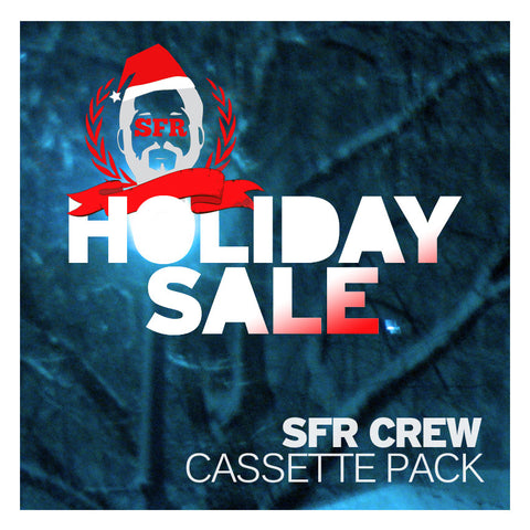 SFR Crew Holiday Sale Cassette Pack