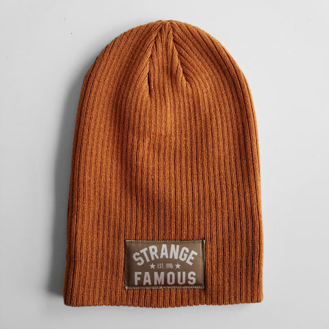 SFR Copper Slouch Knit Hat