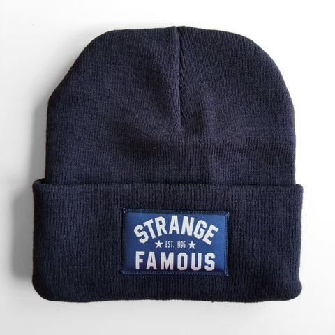 SFR Navy Blue Knit Hat