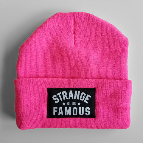 SFR Hot Pink Knit Hat