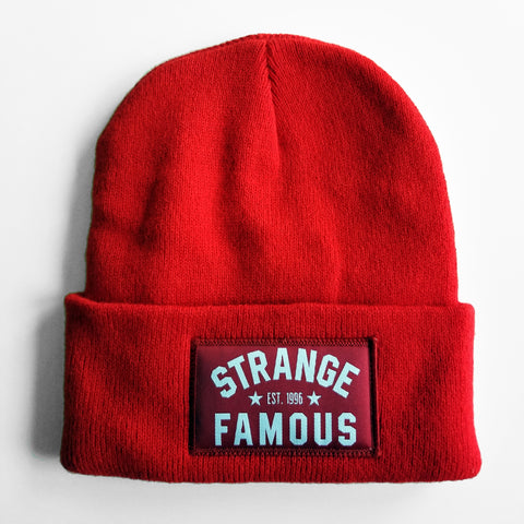 SFR Red Knit Hat