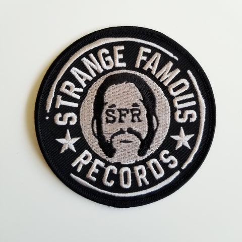 SFR Round Logo 4-Inch PATCH - BLACK
