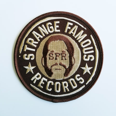 SFR Round Logo 4-Inch PATCH - BROWN