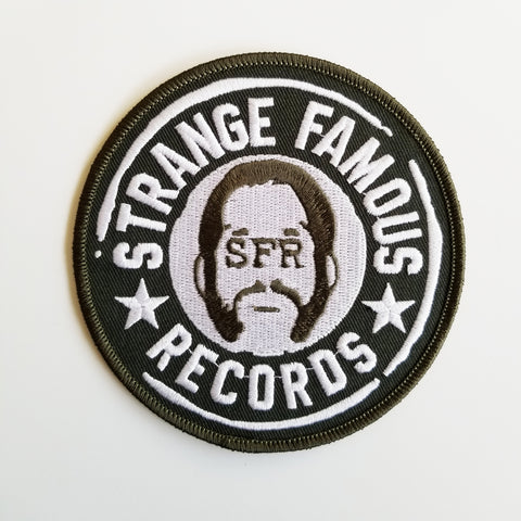 SFR Round Logo 4-Inch PATCH - GREEN