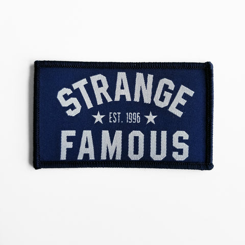 SFR Arch Logo PATCH - NAVY BLUE