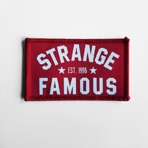 SFR Arch Logo PATCH - RED