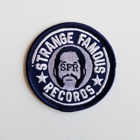 SFR Round Logo 2.25-Inch PATCH - NAVY BLUE