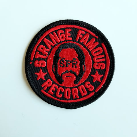 SFR Round Logo 2.25-Inch PATCH - RED