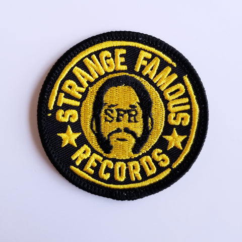 SFR Round Logo 2.25-Inch PATCH - YELLOW