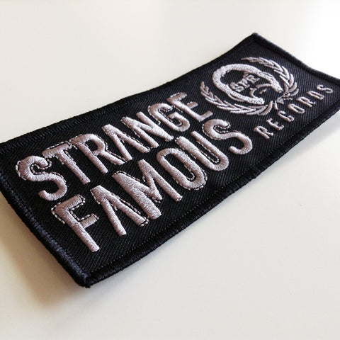 SFR Rectangle Logo BLACK Embroidered Patch