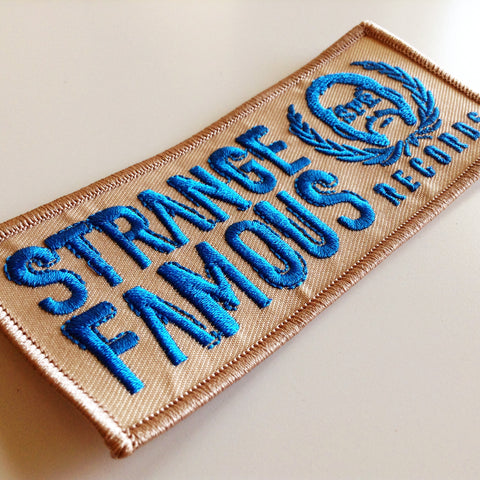 SFR Rectangle Logo COPPER GONE Embroidered Patch