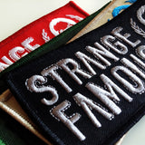 SFR Rectangle Logo Embroidered Patch 4-PACK