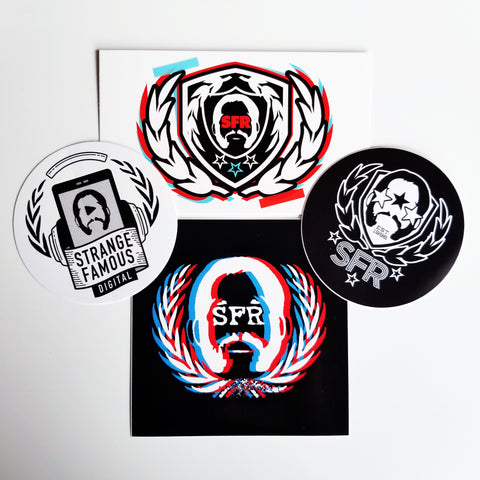Sfr logo stickers 10 pack