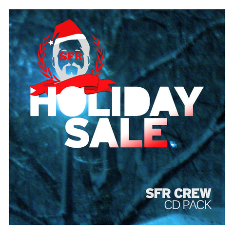 SFR Crew Holiday Sale CD PACK