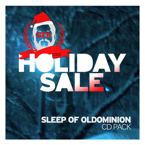 Sleep of Oldominion Holiday Sale CD PACK