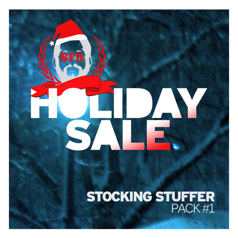 SFR Holiday Sale T-SHIRT+CD+PINS Stocking Stuffer PACK