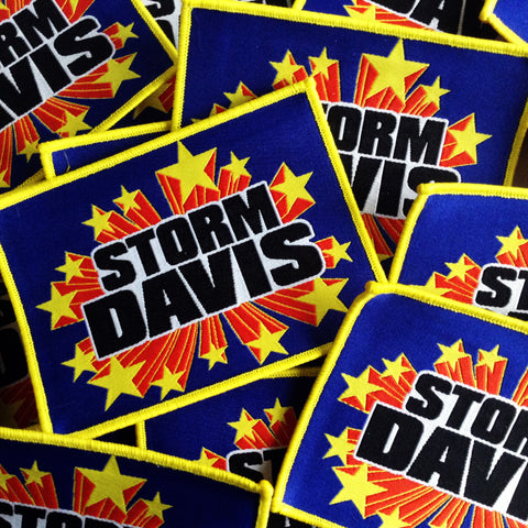 "Storm Davis ""Super Powers"" PATCH"